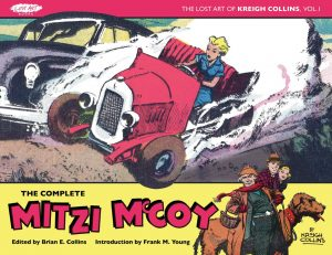 The Lost Art of Kreigh Collins Volume 1: The Complete Mitzi McCoy