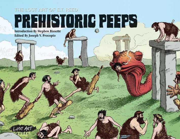 The Lost Art of E.T. Reed: Prehistoric Peeps